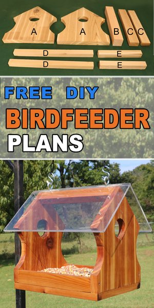 Diy Bird Feeder Plans Simple Homemade
