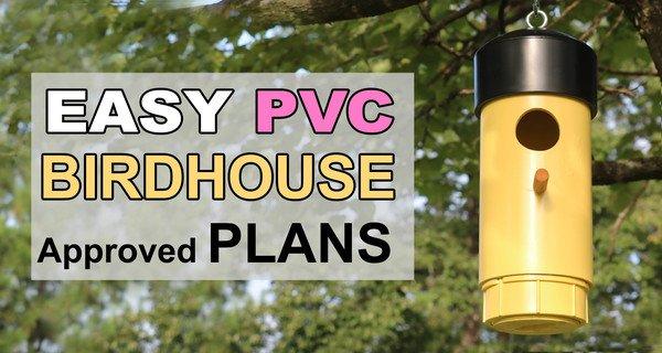 Bird House Design PLANS (DIY PVC Hanging Bird Box)