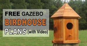Bird House Plans Gazebo.