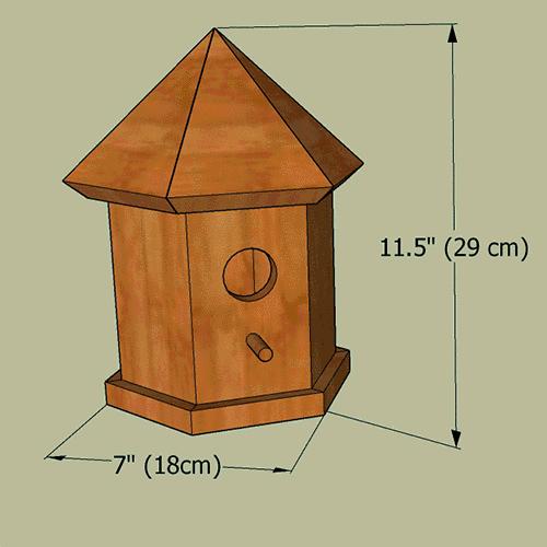 Bird House Plans Gazebo Nesting Box For Bluebirds Wrens Patterns Monograms Stencils Diy Projects