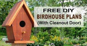 Free Birdhouse Plans.