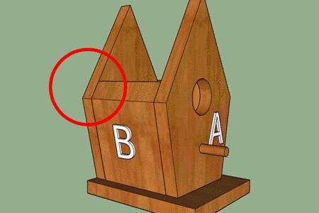 free birdhouse plans side walls exact