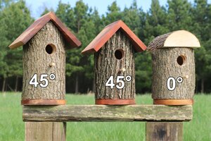 Bird House Roof Pitch (Slope)