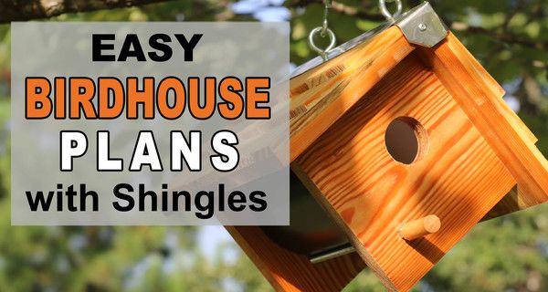 Wooden Bird Box (Easy DIY Birdhouse Plans)