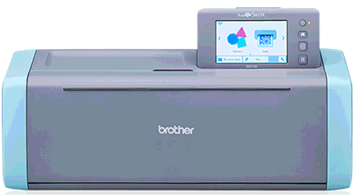 Brother ScanNCut electronic cutting machine and patterns.