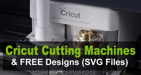Free Cricut designs, files,  patterns, and clipart to download including svg vector graphics. The Cricut Maker cutting machine is great for vinyl and scrapbooking.