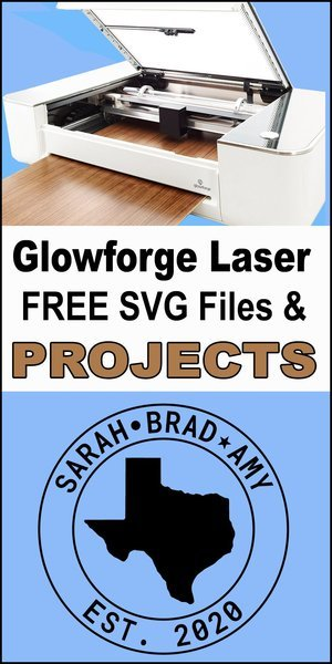 Glowforge laser printer cutting machines, DIY designs, SVG files, patterns, vector graphics, wood, woodworking projects.
