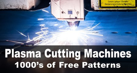Plasma cutting patterns, designs, templates, and projects. CNC plasma cutting machines, SVG files, vector graphics, metal, artwork, projects.