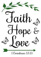 1 Corinthians 13:13 Faith, hope, and love, bible verses, scripture verses, svg files, passages, sayings, cricut designs, silhouette, embroidery, bundle, free cut files, design space, vector.