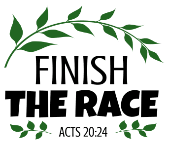 Acts 20:24 Finish the race, bible verses, scripture verses, svg files, passages, sayings, cricut designs, silhouette, embroidery, bundle, free cut files, design space, vector.