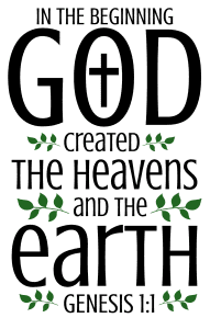 Genesis 1:1 In the beginning God created the heavens and the earth, bible verses, scripture verses, svg files, passages, sayings, cricut designs, silhouette, embroidery, bundle, free cut files, design space, vector.