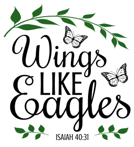 Isaiah 40:31 Wings like eagles, bible verses, scripture verses, svg files, passages, sayings, cricut designs, silhouette, embroidery, bundle, free cut files, design space, vector.