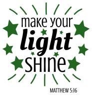 Matthew 5:16 Make your light shine, bible verses, scripture verses, svg files, passages, sayings, cricut designs, silhouette, embroidery, bundle, free cut files, design space, vector.
