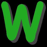 Free W  - brick letter., comic font, 3d font, lettering, colorful, stencil, alphabet, letter, number, font, pattern, template, clipart, printable, alphabet, DIY crafts, bulletin board, teachers, vector, svg.