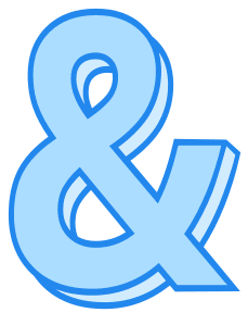 Free Ampersand., 3d text, 3d font, lettering, colorful, stencil, alphabet, letter, number, font, pattern, template, clipart, printable alphabet letters and numbers, DIY, bulletin board, vector, svg.