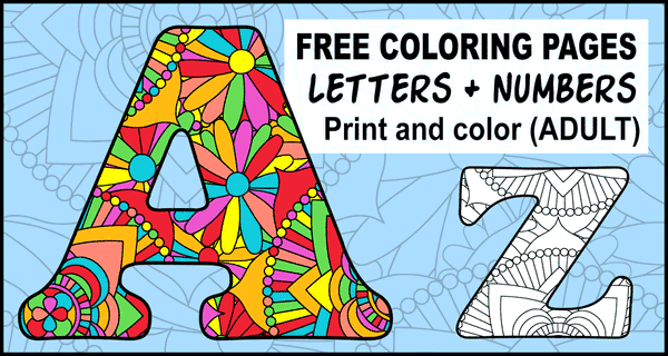 ABC Coloring Pages (Free Alphabet & Letter Colouring Sheets)
