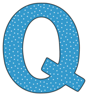 Free Q - alphabet letter., font stencil, pattern, template, clipart, design, printable alphabet letters and numbers with dots, cricut, coloring page, monogram, a-z, vector, svg.