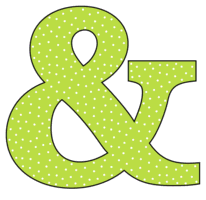 Free Ampersand., font stencil, pattern, template, clipart, design, printable alphabet letters and numbers with dots, cricut, coloring page, monogram, a-z, vector, svg.