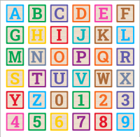 Free baby block alphabet letter All letters, stencil, pattern, template, clipart, printable alphabet letters and numbers, wooden blocks, building blocks, back to school, bulletin board, cricut, silhouette, coloring page, vector, svg.