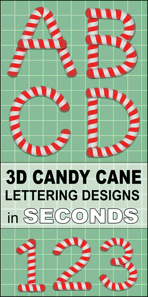 FREE printable candy cane strips lettering font, Christmas, DIY crafts, letters, alphabet, stripped, generator, stencils, patterns, font letters, numbers, signs, bulletin boards, decorations, etc.