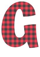 Free G - colorful font. plaid font, colorful font, fun font, lettering, stencil, alphabet, letter, number, font, pattern, template, clipart, printable, alphabet, DIY crafts, bulletin board, teachers, vector, svg.