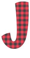 Free J - colorful font. plaid font, colorful font, fun font, lettering, stencil, alphabet, letter, number, font, pattern, template, clipart, printable, alphabet, DIY crafts, bulletin board, teachers, vector, svg.