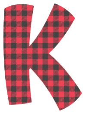 Free K - fun font. plaid font, colorful font, fun font, lettering, stencil, alphabet, letter, number, font, pattern, template, clipart, printable, alphabet, DIY crafts, bulletin board, teachers, vector, svg.