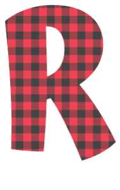 Free R - fun font. plaid font, colorful font, fun font, lettering, stencil, alphabet, letter, number, font, pattern, template, clipart, printable, alphabet, DIY crafts, bulletin board, teachers, vector, svg.