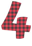 Free 4 - colorful letters plaid font, colorful font, fun font, lettering, stencil, alphabet, letter, number, font, pattern, template, clipart, printable, alphabet, DIY crafts, bulletin board, teachers, vector, svg.