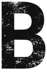 Free B - distressed. distressed letter font stencil, eroded, destroyed, block, bold, number, pattern, template, clipart, printable alphabet letters, t-shirt, DIY, homemade, back to school, bulletin board, cricut, silhouette, vector, svg.