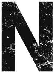 Free N  - distressed. distressed letter font stencil, eroded, destroyed, block, bold, number, pattern, template, clipart, printable alphabet letters, t-shirt, DIY, homemade, back to school, bulletin board, cricut, silhouette, vector, svg.