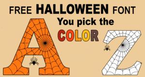 Printable Halloween Letters