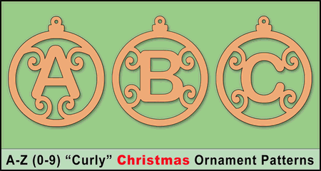 Homemade Christmas ornaments, letters, numbers, templates, stencils, patterns, alphabet, printable, scroll saw patterns, decorations, crafts, circut.