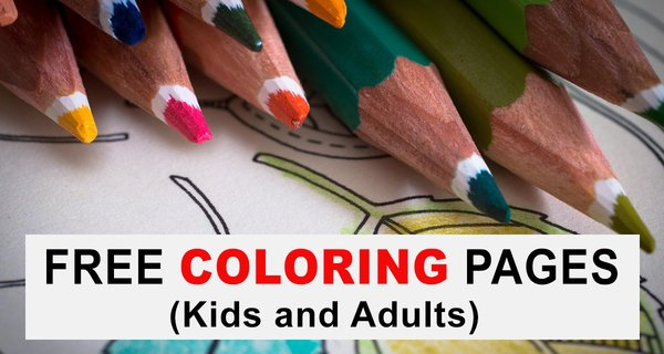 Coloring Pages For Kids And Adults Free Printable Patterns Patterns Monograms Stencils Diy Projects