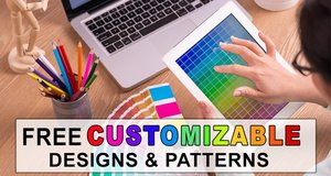 Free online custom designs, personalized, patterns, stencils, fonts, templates, monograms, text in circle, banners, SVG, JPG, PNG.