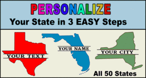 Customize US States.