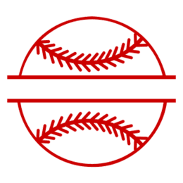 Free Baseball/Softball  split monogram sports stencil template clipart print download vector circuit silhouette svg laser scroll saw.
