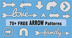 Arrow Icon Patterns.