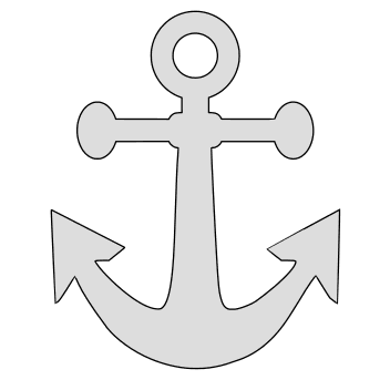Free Anchor Christian cross. christian religious pattern stencil template print download vector svg laser scroll saw vinyl cricut silhouette cutting machines.