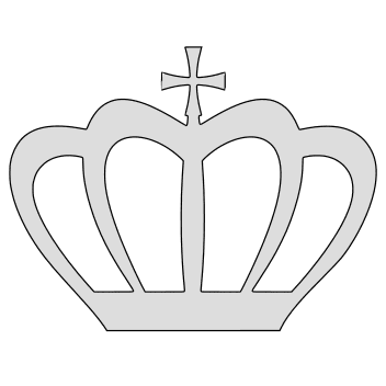 Free Crown Christ Catholic. christian religious pattern stencil template print download vector svg laser scroll saw vinyl cricut silhouette cutting machines.