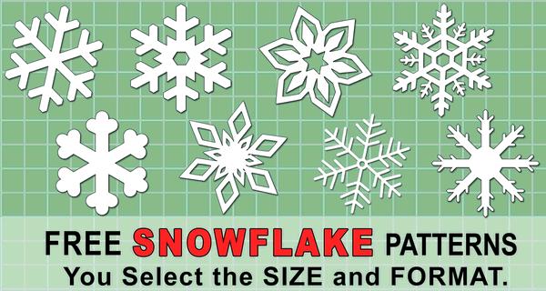 It is an image of Printable Snowflake Stencils in medium