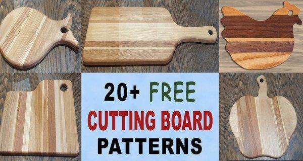 Cutting Boards Designs (DIY Wood Chopping Board)