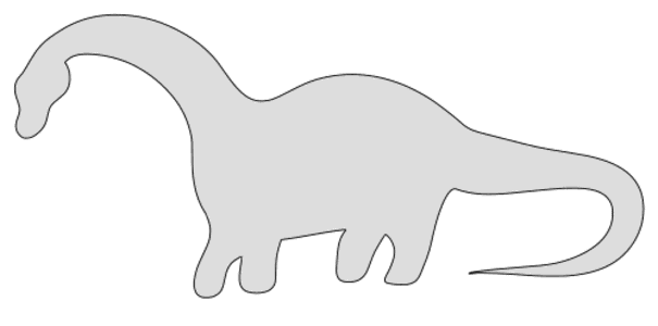 Free Brontosaurus Dinosaur Stencil  vector, cricut, silhouette, fossil, dino, jurassic, animal, cricut, scroll saw, svg, coloring page, quilting pattern, toy, design clipart.