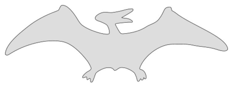 Free Pterodactyl Dinosaur Pattern  vector, cricut, silhouette, fossil, dino, jurassic, animal, cricut, scroll saw, svg, coloring page, quilting pattern, toy, design clipart.