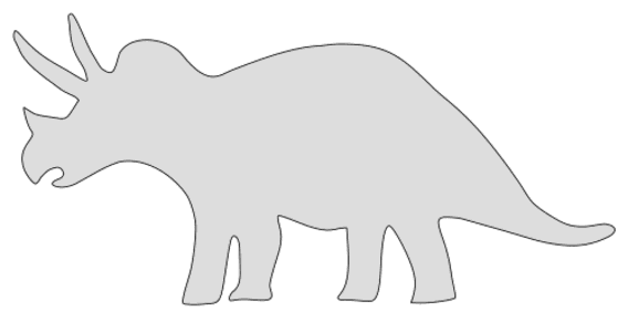 Free Triceratops Dinosaur Pattern  vector, cricut, silhouette, fossil, dino, jurassic, animal, cricut, scroll saw, svg, coloring page, quilting pattern, toy, design clipart.