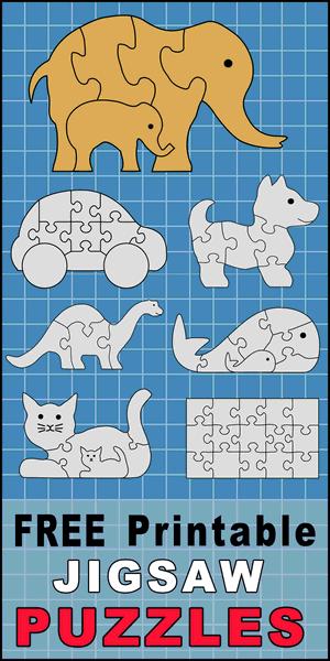 Diy Jigsaw Puzzles Free Patterns