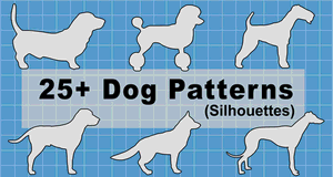 Dog Patterns and Stencils.