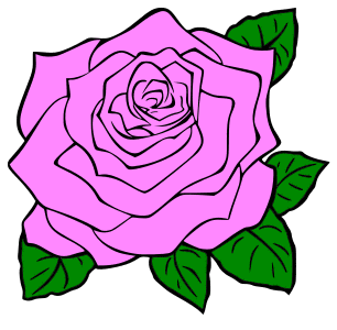 Rose flower blossom design., flowers template, pattern, svg stencil, free template, pattern, clipart design, cricut, silhouette, scroll saw, coloring page.
