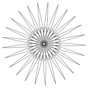 Free printable Circle Vector Coloring Sheet.  These mandala coloring pages and coloring sheets are for adults, children, and beginners to download, print and colour.