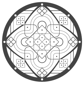 Free printable Mandala Flowers Symbol Meditation.  These mandala coloring pages and coloring sheets are for adults, children, and beginners to download, print and colour.